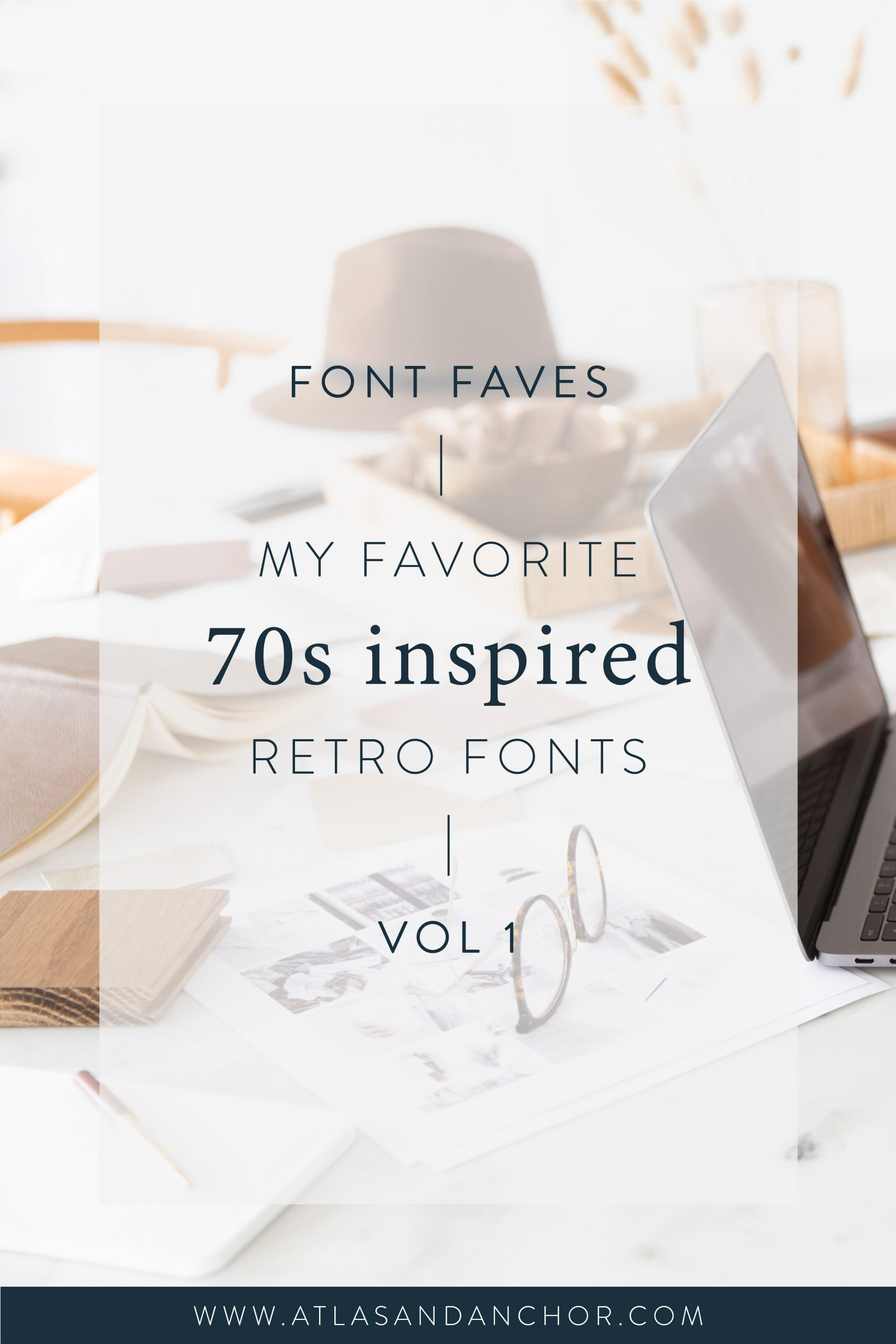 70s inspired retro fonts