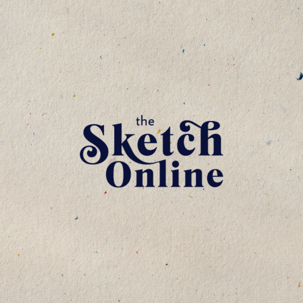 sketch online primary logo in blue