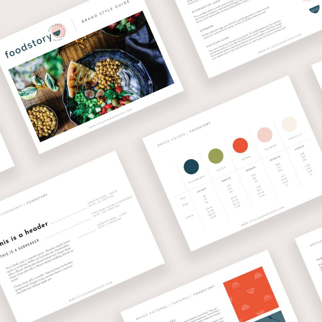 foodstory brand guide