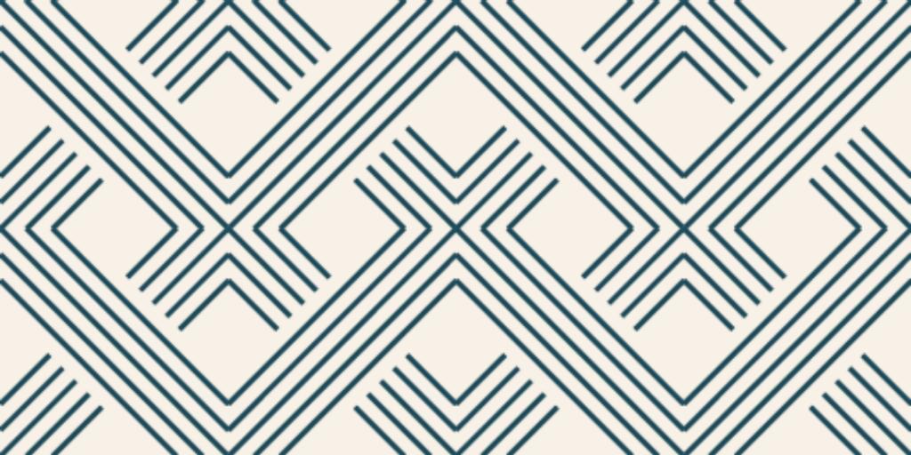 linear diamond pattern