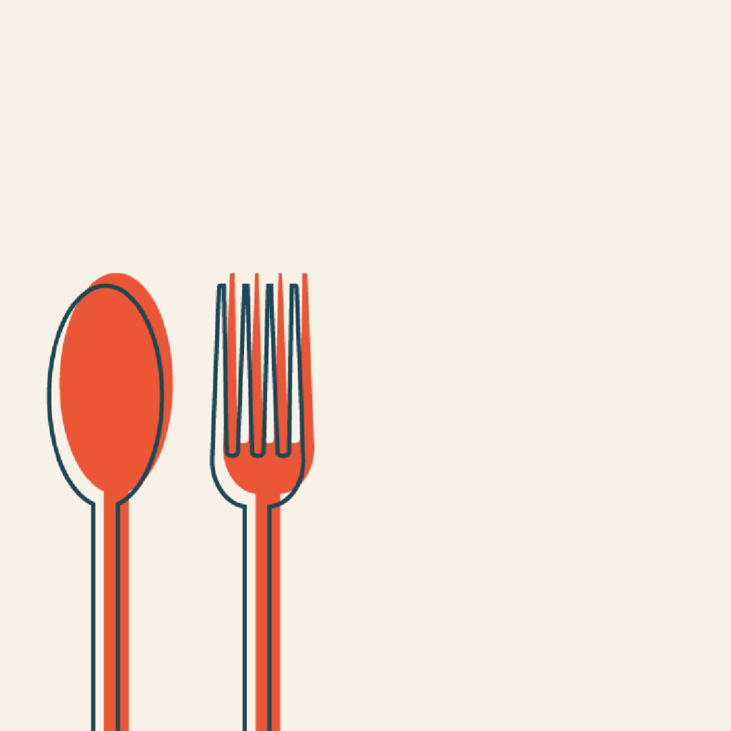 knife and fork graphic