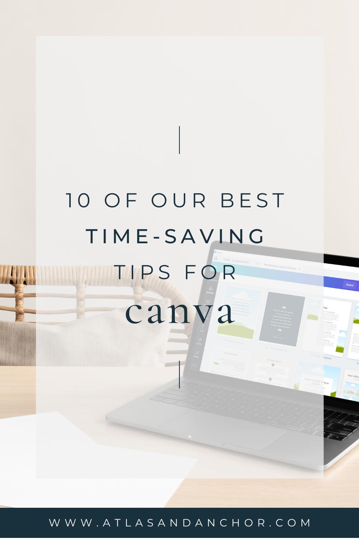 time-saving canva tips