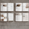 madison workbook template for canva pages