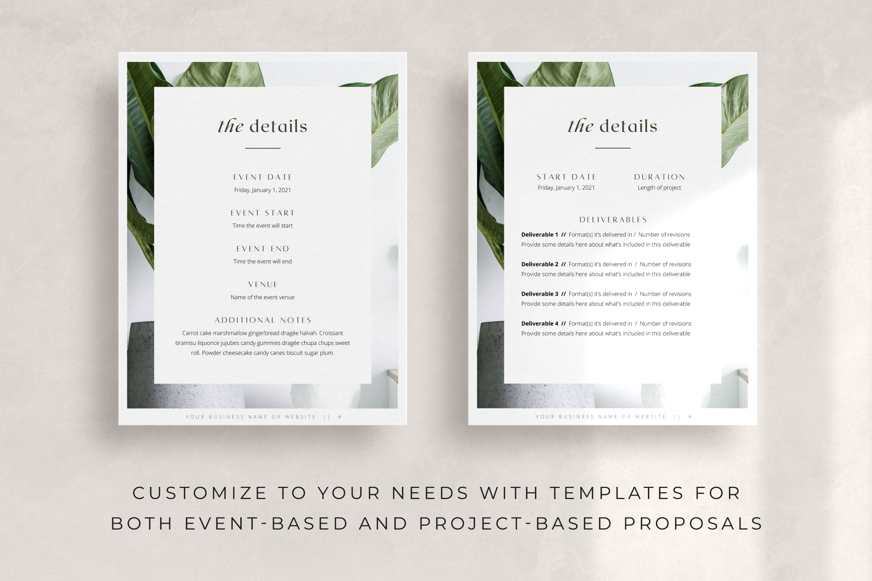 fiona proposal template for canva