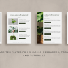 fiona client goodbye packet template for canva