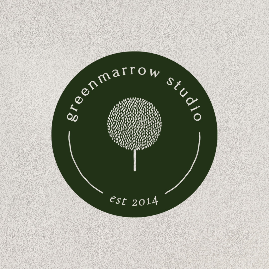 green branding greenmarrow studio brand submark
