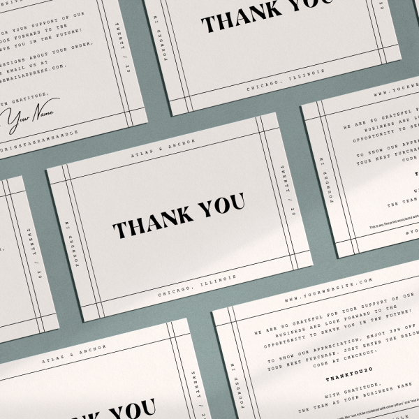 riley thank you card template for canva