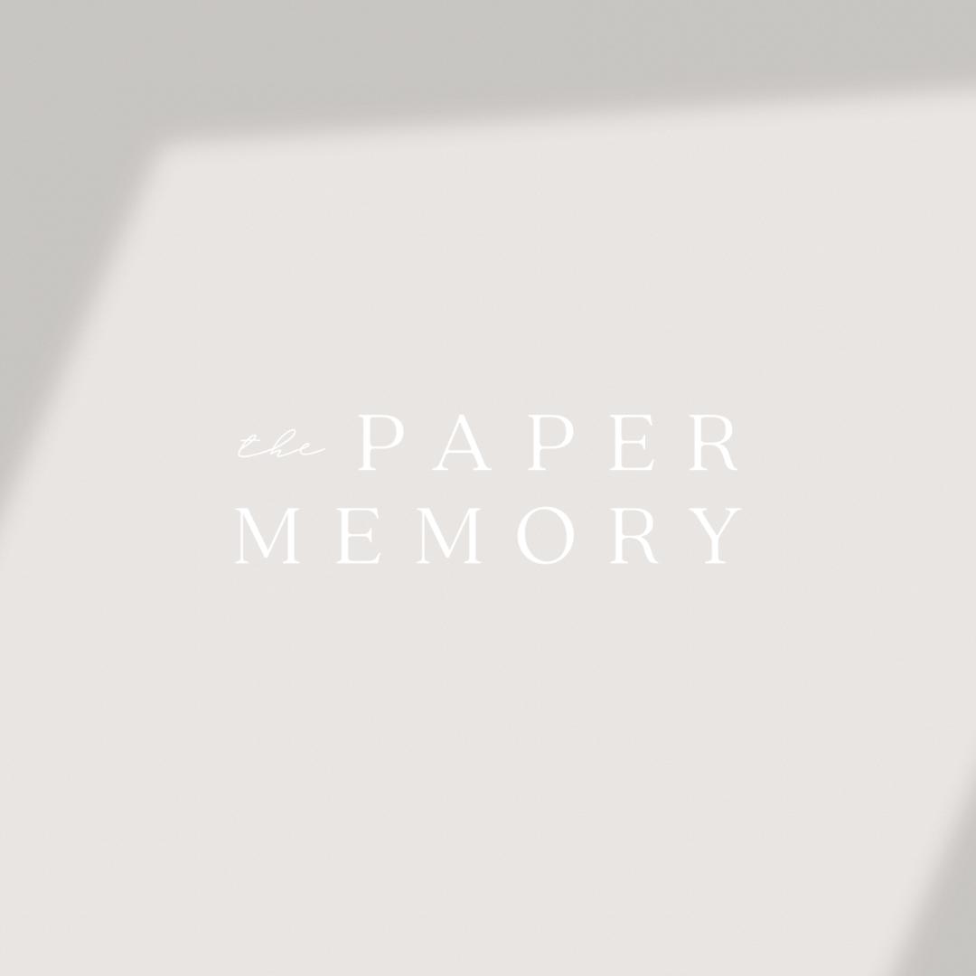 paper memory logo
