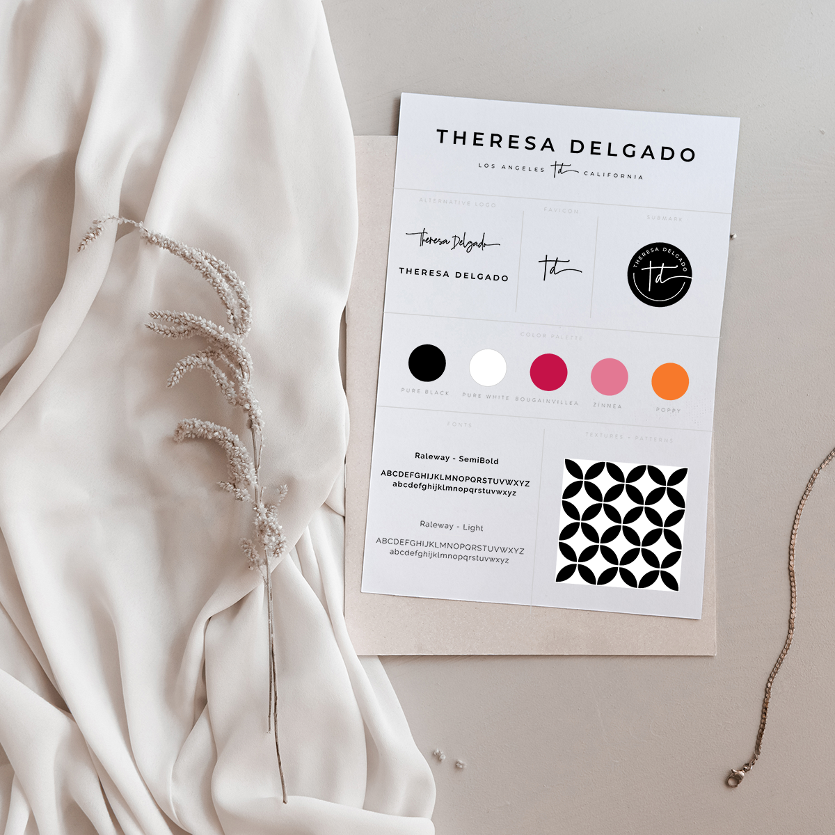 theresa delgado brand